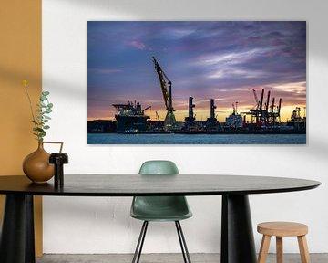 Rotterdam havens van Alvin Aarnoutse