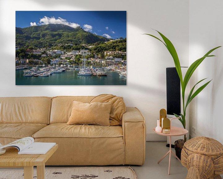 Beispiel: Hafen von Casamicciola Terme, Ischia von Christian Müringer