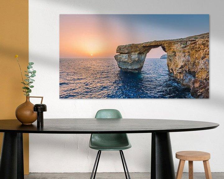 Beispiel: MALTA 15 - Das Azure Window von Tom Uhlenberg