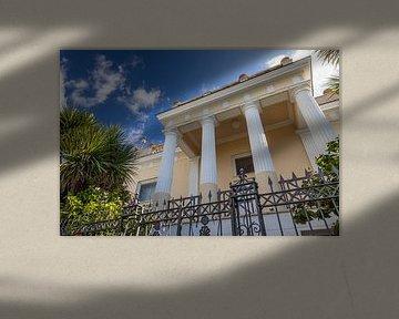 Klassische Villa im Ort Capri, Italien von Christian Müringer