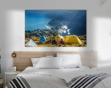 Berg Rinjani Bali von Thom Sabel
