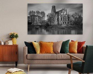 Johanneskirche aan de Feuersee van Keith Wilson Photography