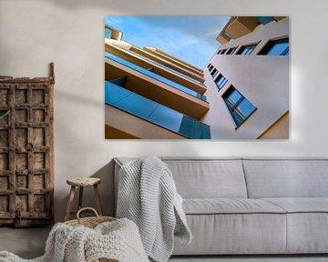 neue gebaute Wohnungen am neuen Domviertel in Magdeburg von Heiko Kueverling