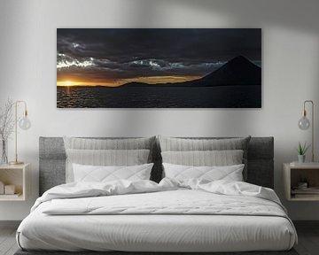 Coucher de soleil sur Ometepe sur Stefan Havadi-Nagy