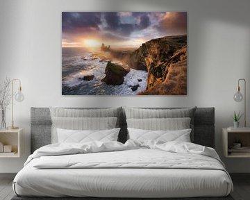 Londrangar Sunset von Jarno Boks