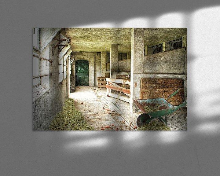 Sfeerimpressie: oude schuur van Elly Wille-Neuféglise