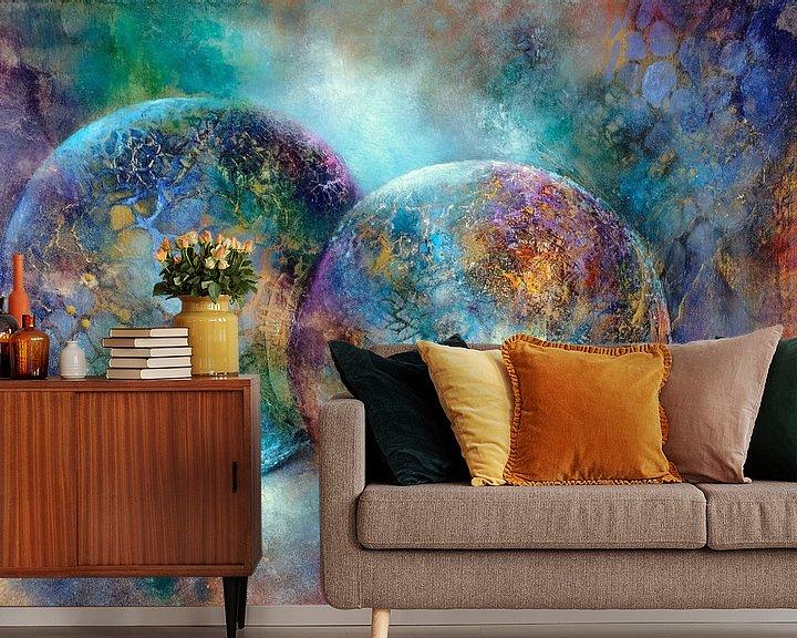 Sfeerimpressie behang: Kleine schatten van Annette Schmucker