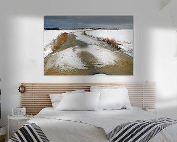 Boerderij op Terschelling in de winter van Mooi op Terschelling