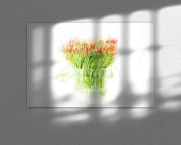 Een boeketje tulpen - 1 van Danny Budts