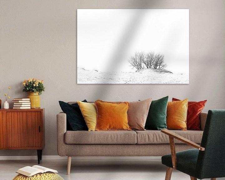 Sfeerimpressie: Bomen in de duinen van Dion de Bakker