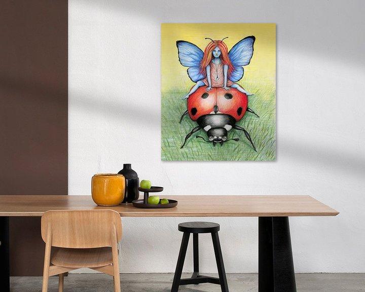 Beispiel: Eine Fahrt auf einem Marienkäfer von Bianca Wisseloo