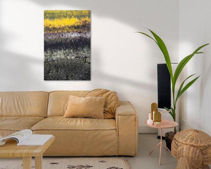 Sfeerimpressie: Abstract met mosselen van Hanneke Luit
