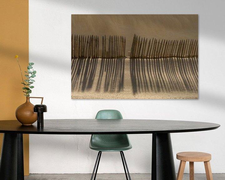Beispiel: Linienspiel mit Schatten von Peter Sneijders