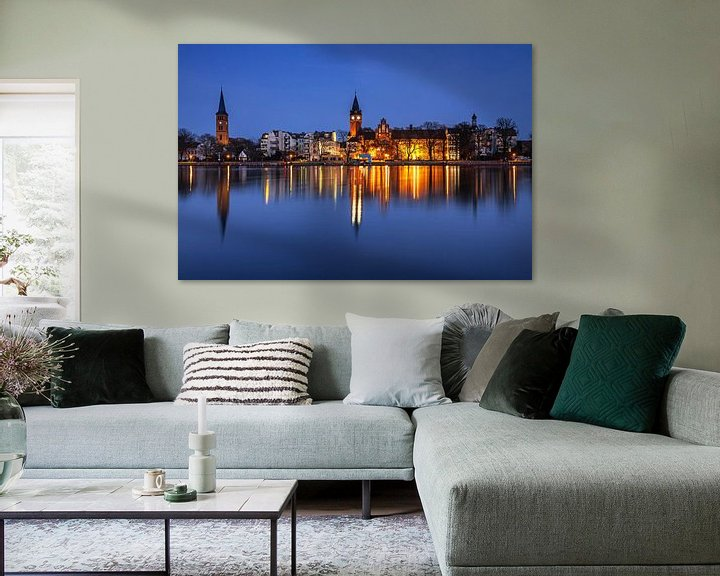Impression: Berlin - La vieille ville de Köpenick à l'heure bleue sur Frank Herrmann