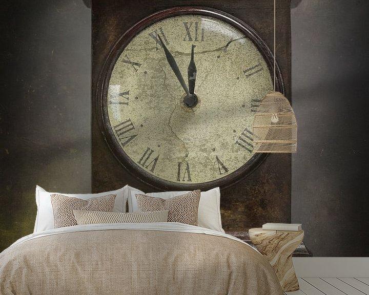 Beispiel fototapete: Die tickende Uhr von Danny den Breejen