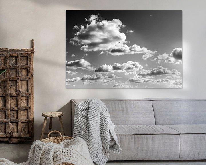 Sfeerimpressie: Bewolkte hemel van Frank Herrmann