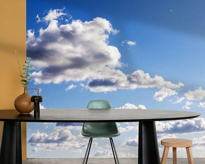 Beispiel fototapete: Wolkenhimmel von Frank Herrmann