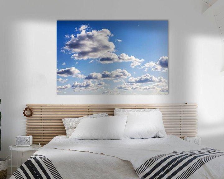 Beispiel: Wolkenhimmel von Frank Herrmann