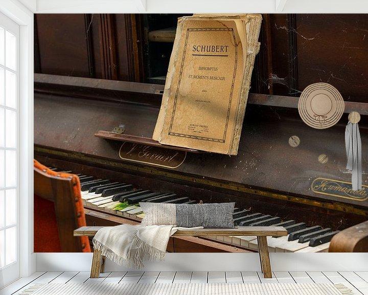Beispiel fototapete: Klavier spielen - Schubert von Lieselotte Stienstra