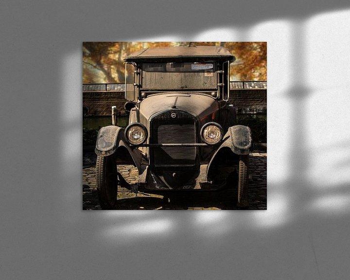 Sfeerimpressie: Antieke Studebaker een Oldtimer van Brian Morgan