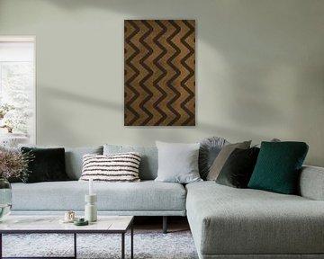 Golven - Moderne Kunst van Studio Malabar