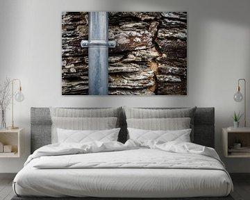 Mur de pierre sur John Groen