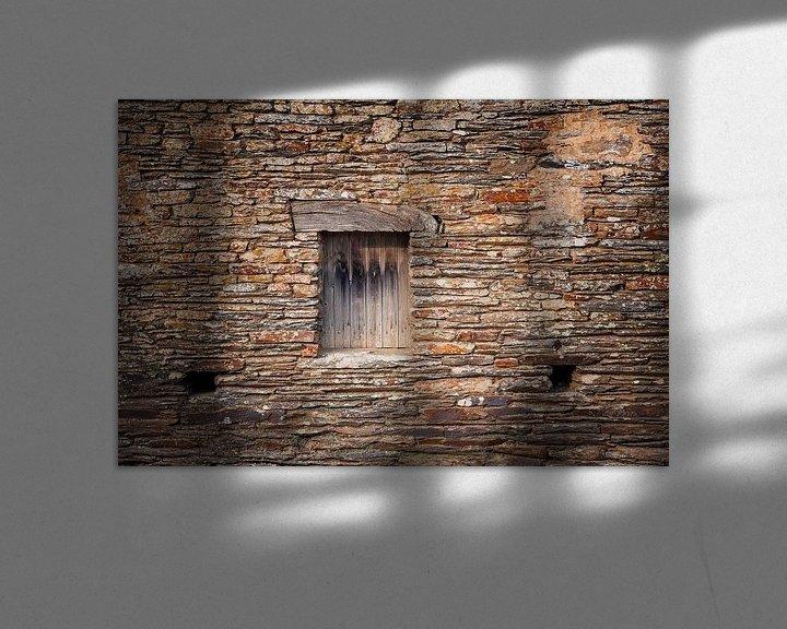 Beispiel: Steinmauer von John Groen