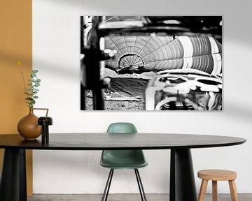 Black & White Pilot burner van Sense Photography