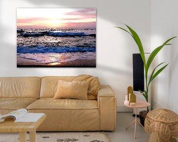 Abendmeer Nordsee von Dirk H. Wendt