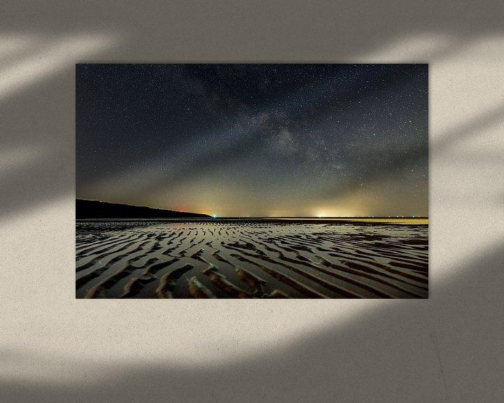 Sfeerimpressie: Night at the beach van Marjolein van Roosmalen