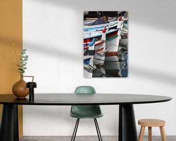 Kleurrijke bootjes van Bärbel Severens