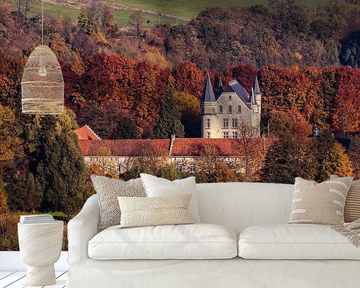 Beispiel fototapete: Schloss Schaloen von Rob Boon