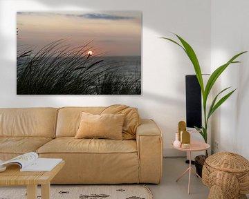 Het strand op Texel van thomas van der Wijngaard
