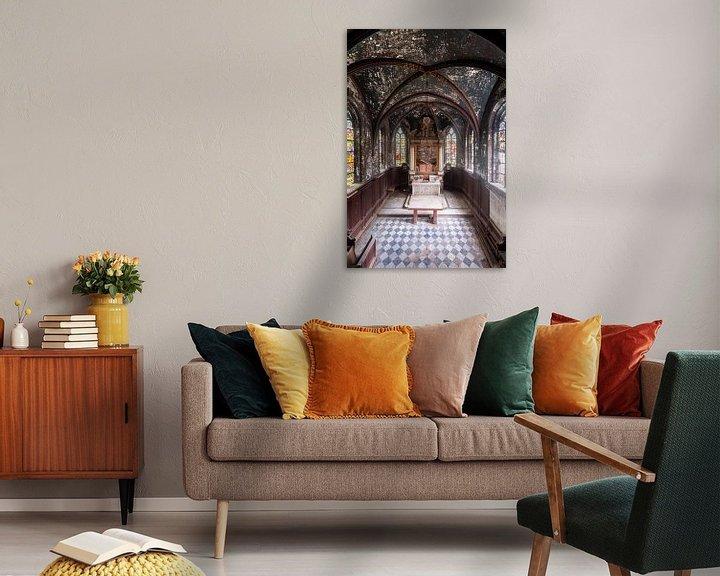 Sfeerimpressie: Kapel in Verval. van Roman Robroek