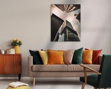 Frankfurt Skyline Omni Toren van domiphotography