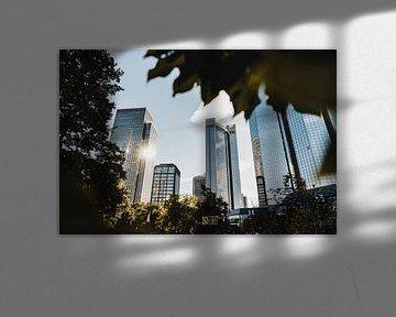 Frankfurt Skyline Bankenviertel von domiphotography