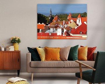 Altstadt, Dächer, Tallinn, Estland, Europa von Torsten Krüger