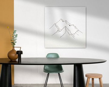 Berg 003 van beangrphx Illustration and paintings