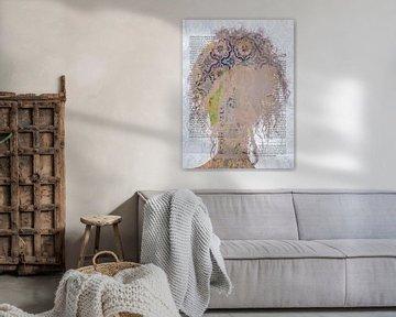 Curls with azulejos von Gabi Hampe