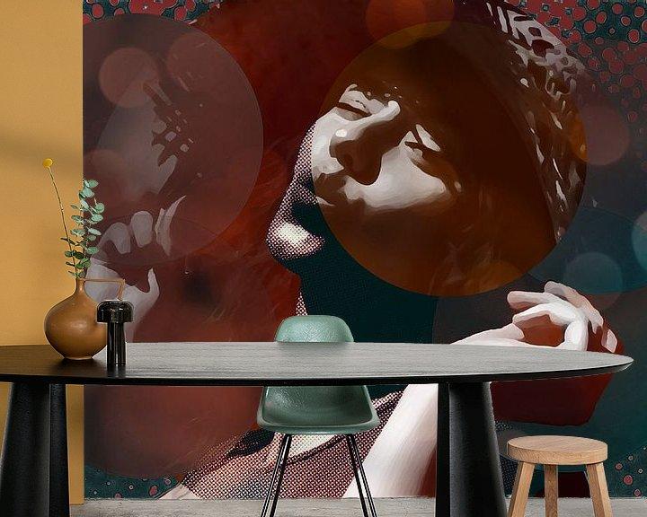 Sfeerimpressie behang: Two tones van True Color Stories