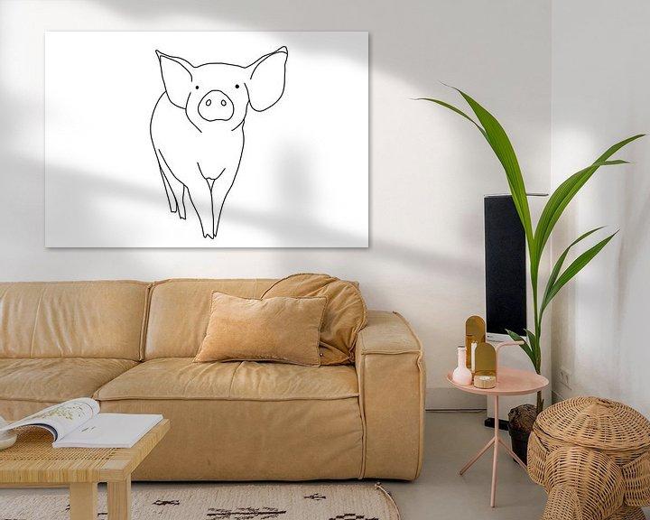Impression: Porcinet sur MishMash van Heukelom