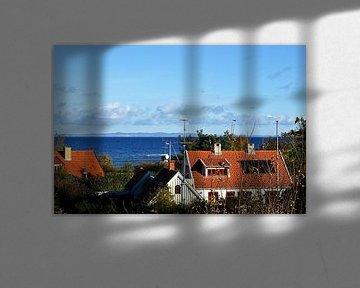 Blick von Dänemark nach Schweden von Norbert Sülzner