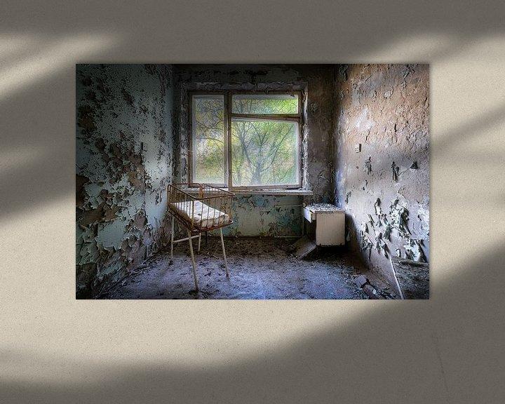 Beispiel: Entbindungszimmer im verlassenen Krankenhaus. von Roman Robroek