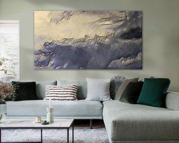 Abstract - Weer Verhalen - De Regenbrenger - Schilderij