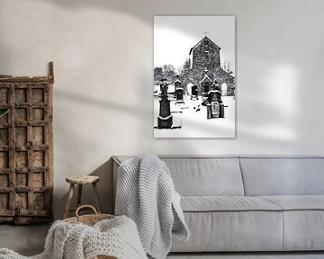 Kirche von Ollomont von Guido Rooseleer