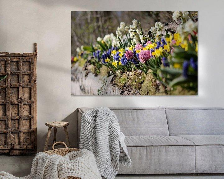 Sfeerimpressie: Bloemenperk in de lente van Niels van den Berg