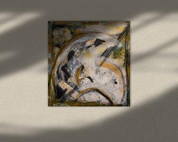 Abstraktes Gesicht von Jan Fritz