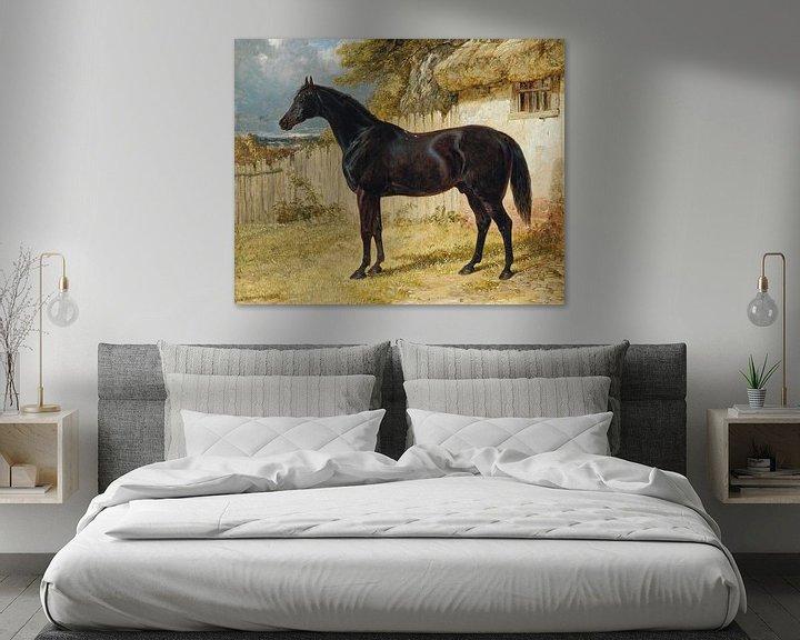 Sfeerimpressie: Black Horse van Antonije Lazovic