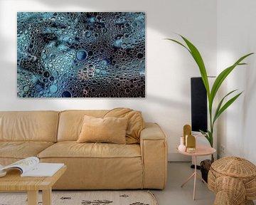 Abstrakte Kunst mit Blasen von KB Design & Photography (Karen Brouwer)