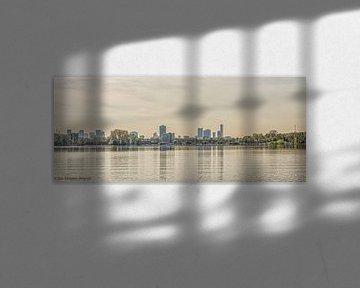 Panorama Kralingseplas van Ron Kleinjans